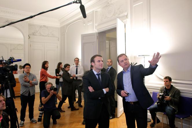 Emmanuel Macron à Paris le 9 novembre 2015.