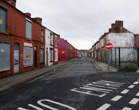 A Liverpool, des quartiers entiers, comme celui de Picton, sont abandonnés.