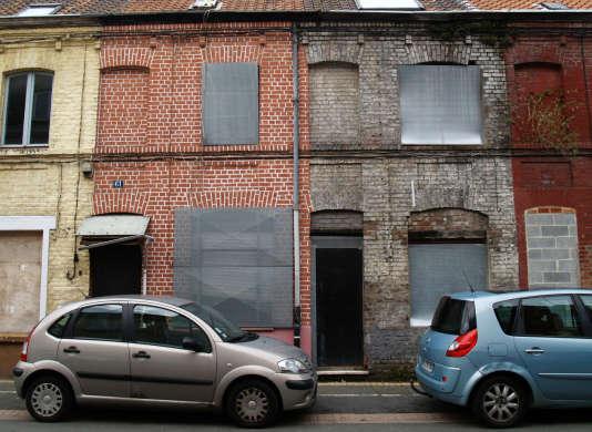 Dans le quartier du Pile, à Roubaix, des maisons sont vacantes depuis des années.