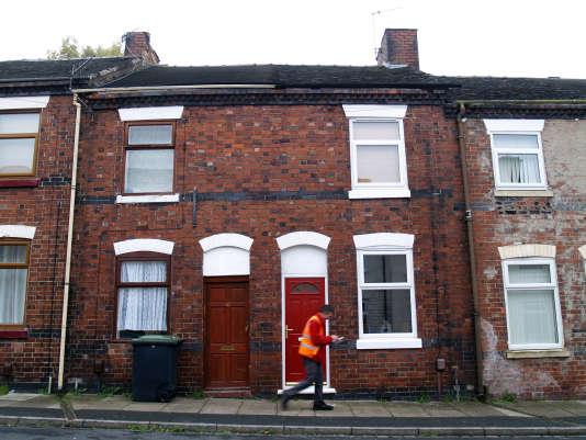 Des maisons à une livre dans le quartier de Portland, à Stoke-on-Trent.