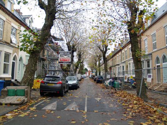 Près de 150 maisons du quartier de Granby, à Liverpool, sont en cours de rénovation. Cinq sont des maisons à une livre.