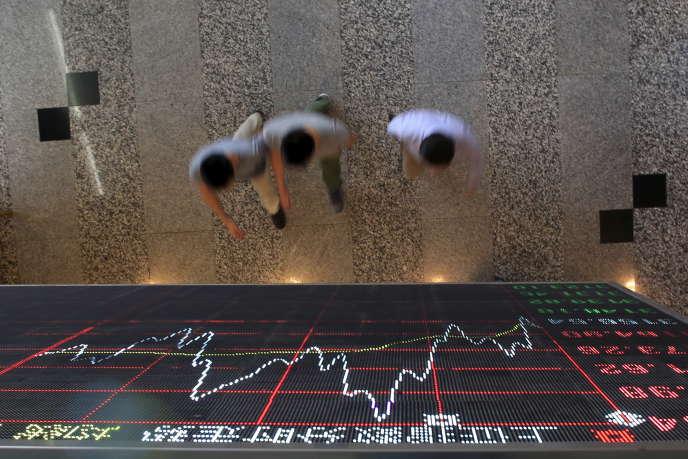 A la Bourse de Shanghaï, en septembre 2015.