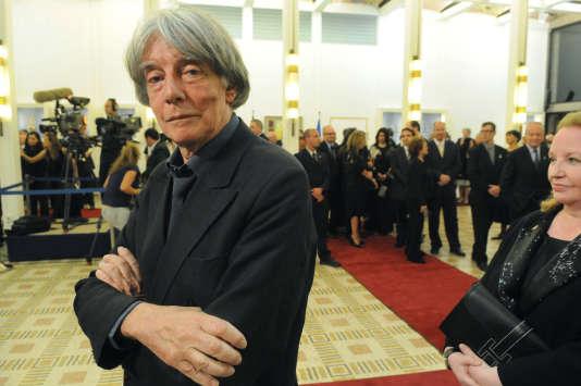 André Glucksmann en 2008.
