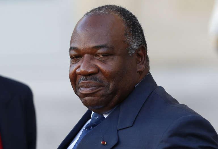 Le président gabonais Ali Bongo à Paris lors de la COP21, en décembre 2015.