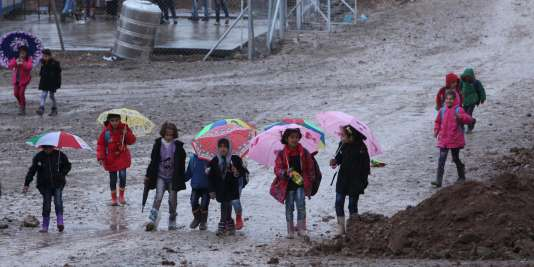 Des réfugiés irakiens.