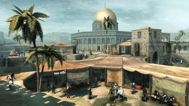 Après cinq années au Maroc, Vincent Monnier voulait que les trois religions soient représentées dans la Jérusalem d'Assassin's Creed.
