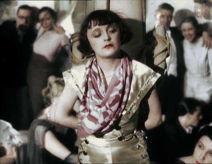 Edith Piaf dans «La Garçonne» (1936), de Jean de Limur .