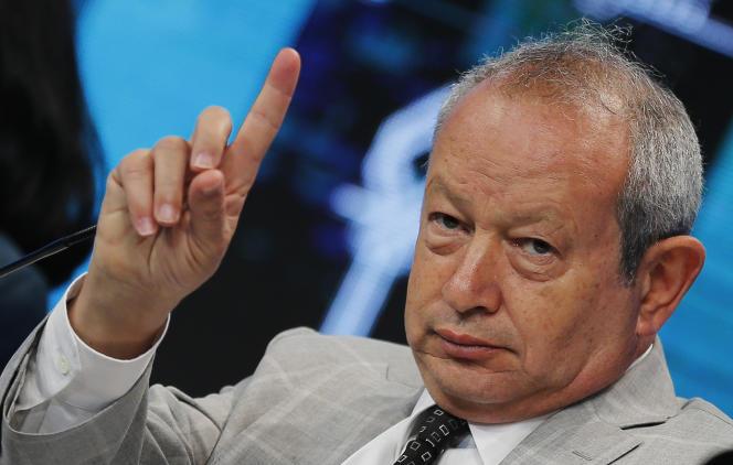 Naguib Sawiris, ici en mars 2015, est l'aîné des trois fils de Onsi Sawiris. Le patriarche, copte égyptien, a réparti son empire à ses enfants. Naguib, 60 ans, a repris les activités télécom et technologie et a pris le contrôle d'Euronews à l'été 2015, pour 35 millions d'euros.