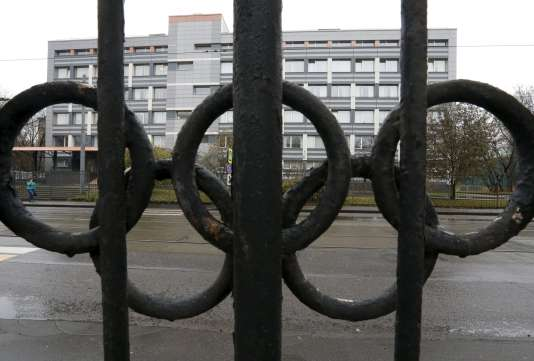 Le laboratoire accrédité par l'Agence mondiale antidopage, à Moscou.