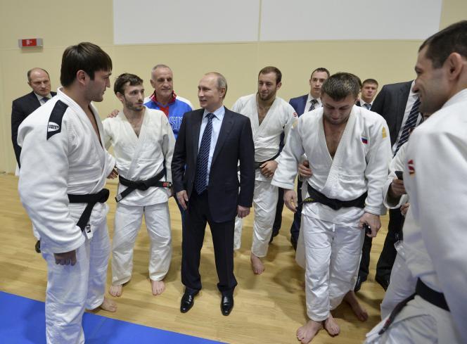 Vladimir Poutine à Sotchi, le 11 novembre.