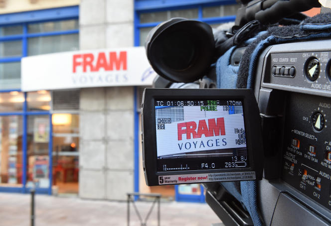Un boutique FRAM à Toulouse, en octobre 2015.