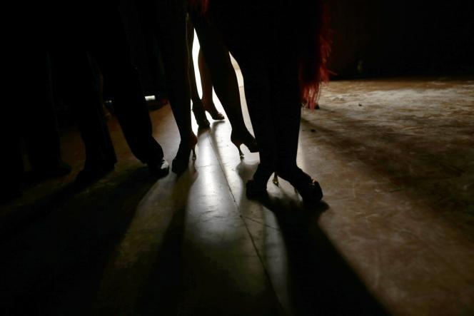 Dans les coulisses du World Salsa Master, à Madrid, le 6 novembre.