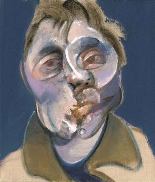 Autoportrait de Francis Bacon, 1969.