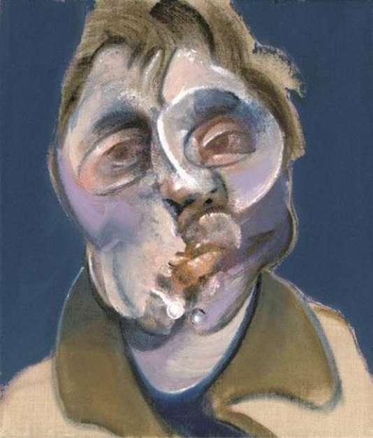 Autoportrait de Francis Bacon, 1969.