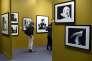 Exposition de Lilian Bassman à la Foire Paris Photo au Grand Palais à Paris en novembre 2015.
