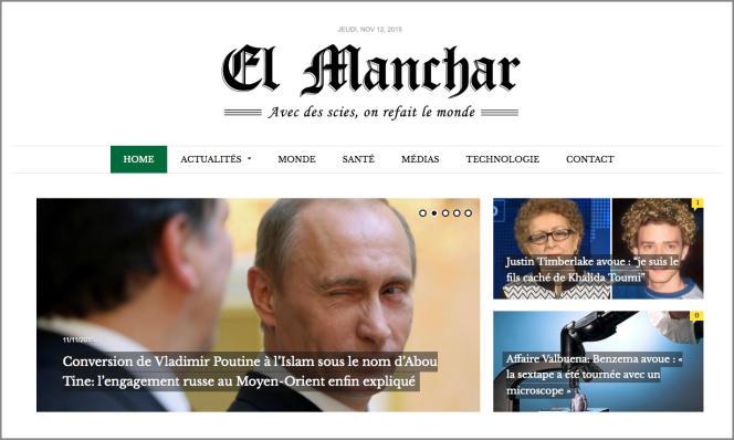 Outre l'actualité algérienne, El Manchar s'attaque à l'international…