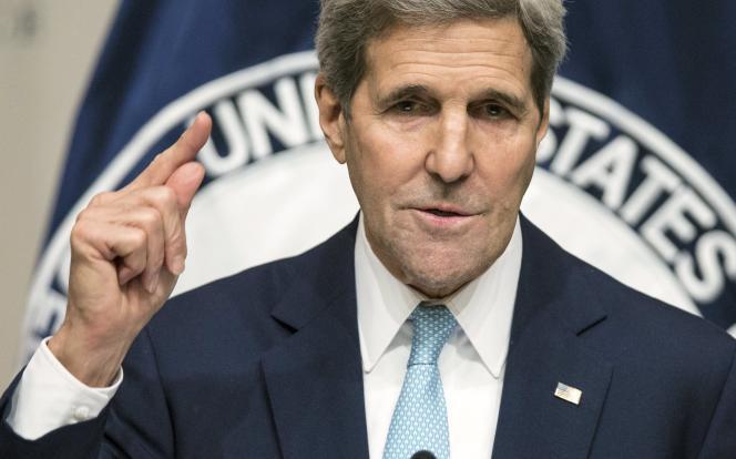 John Kerry, jeudi 12 novembre, à Washington.