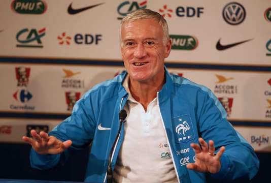 Le sélectionneur Didier Deschamps disputera son premier Euro à la tête de l'équipe de France.