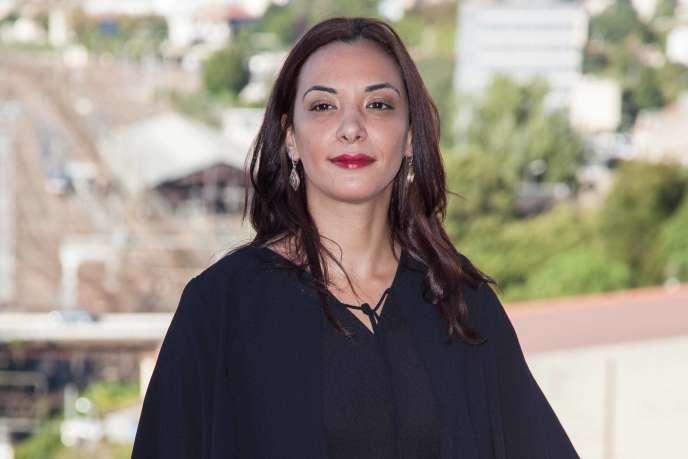 Loubna Abidar au Festival du film francophone d'Angoulême, le 26 août 2015.