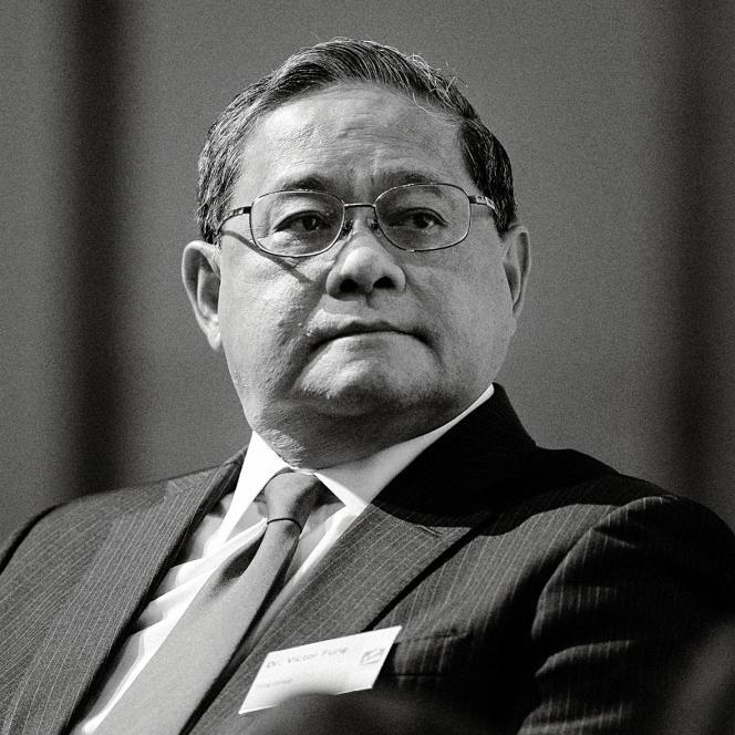 Le milliardaire chinois Victor Fung  (ici en septembre 2015), patron du groupe  Li & Fung, propriétaire de quatre adresses prestigieuses à Savile Row.