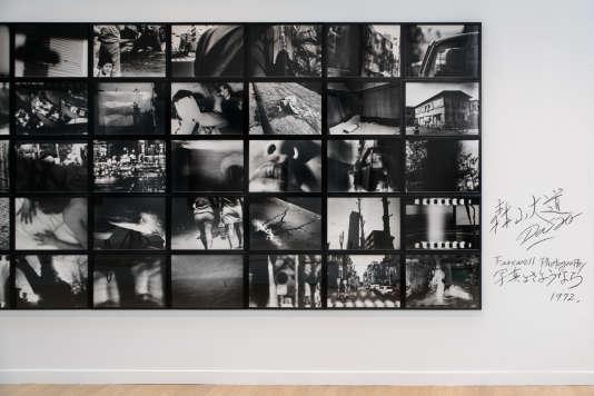 """Daido Moriyama, """"Farewell Photography"""" - set complet, 1972. 80 tirages gélatine-argentiques encadrés, 50x60 cm chacun."""