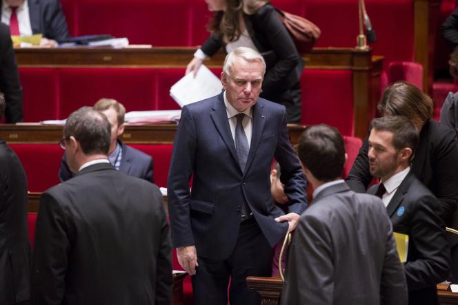 Jean-Marc Ayrault, à l'Assemblée nationale, jeudi 12 novembre.