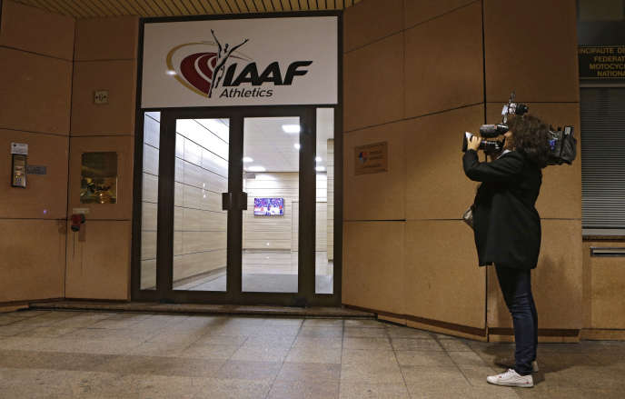 Les locaux de l'Iaaf à Monaco en novembre 2015. (AP Photo/Lionel Cironneau)