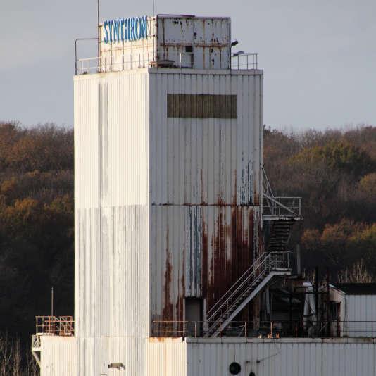 usine Synthron, site Auzouer-Villedômer, 13 novembre 2015