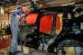 Un apprenti  dans l'atelier de carrosserie de l'Université régionale des métiers de l'artisanat (URMA), à Arras.