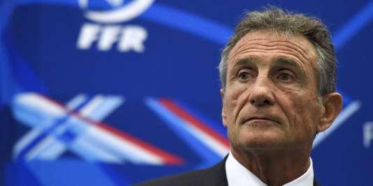 Le sélectionneur du XV de France Guy Novès, le 13 novembre à Marcoussis.
