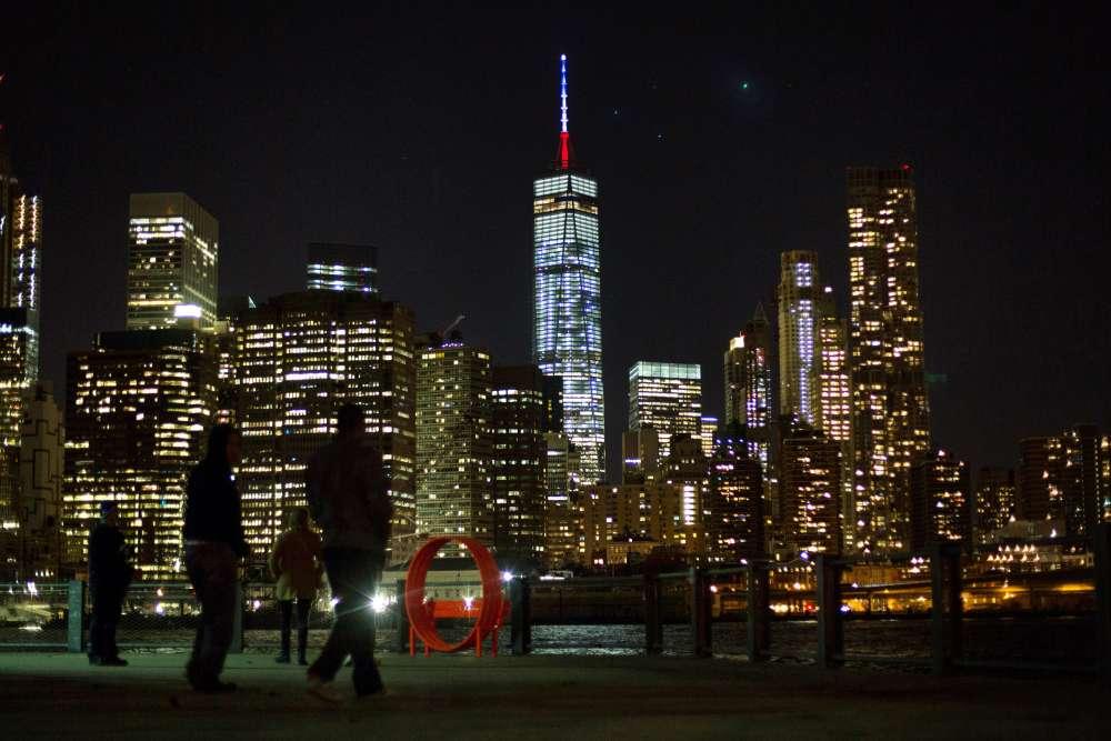 Le One World Trade Center à New York le 13 novembre.