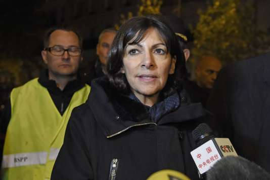 Anne Hidalgo, le 14 novembre à Paris.
