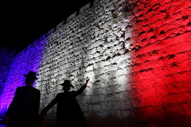Le Mur des lamentations à Jérusalem, en Israël, le 14 novembre.