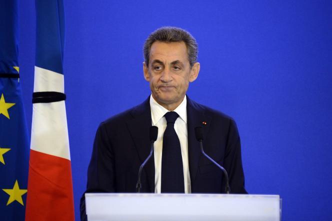 Le président des Républicains, Nicolas Sarkozy, le 14 novembre 2015.