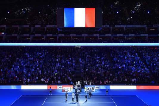L'O2 Arena de Londres accueille du 15 au 22 novembre le tournoi international ATP.