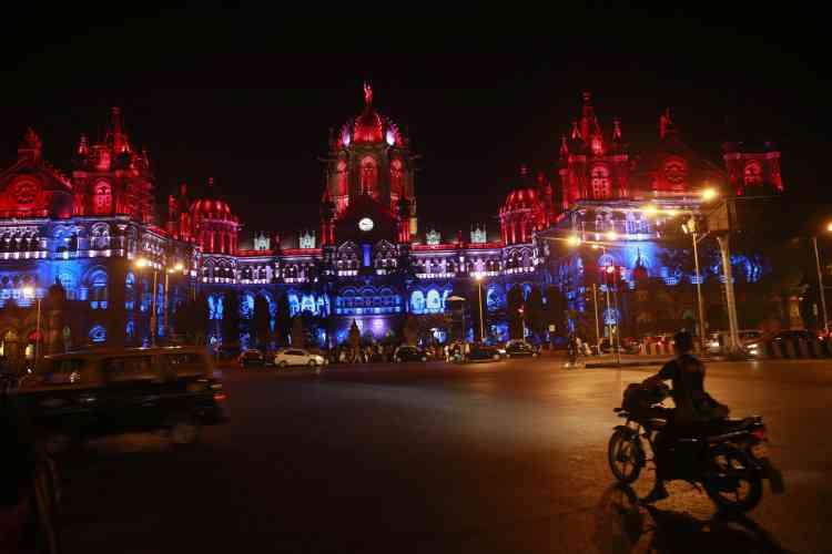 La gare Chhatrapati Shivaji à Bombay, le 15 novembre.