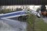 Accident de la rame d'essai de TGV  à Eckwersheim près de  Strasbourg le 15 novembre 2015.