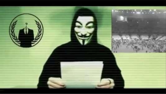 Les Anonymous ont bien publié un message vidéo lundi 16 novembre, mais les comptes djihadistes dévoilés datent du mois de mars.