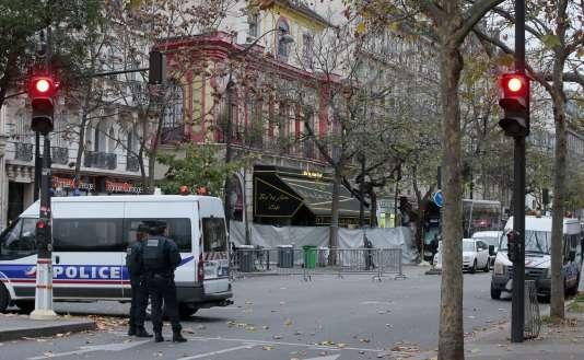 Le Bataclan à Paris, le 14 novembre 2015.
