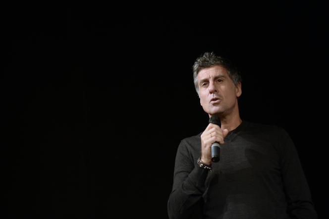 L'entrepreneur et fondateur de Meetic, Marc Simoncini, en novembre 2013, à Paris.