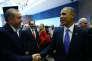 Recep Tayyip Erdogan et Barack Obama, le 16 novembre à Antalya.