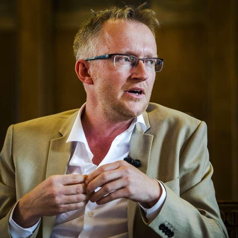 L'auteur et historien David Van Reybrouck.