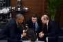 Les présidents Barack Obama  et Vladimir Poutine se sont rencontrés en marge  du sommet du G20 à Antalya, le 15novembre, en Turquie.