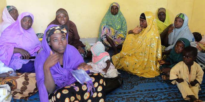 Femmes de la ville de Kano, au nord-est du Nigeria.