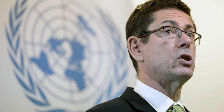 Ivan Simonovic, secrétaire général adjoint aux droits de l'homme aux Nations unies, en mars 2015, à Genève.