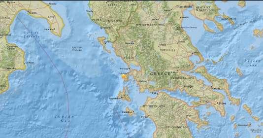 Le séisme s'est produit à 10 kilomètres de profondeur, indique l'USGS.