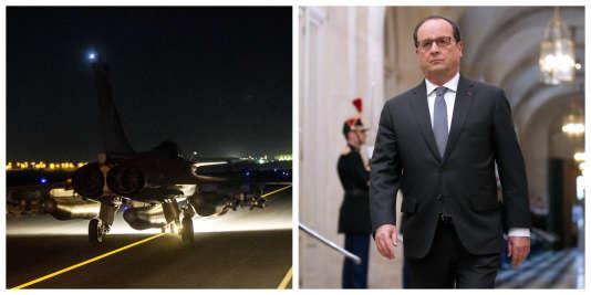 Raid aérien, annonces institutionnelles, nouveaux moyens, commanditaire présumé : l'actu du 17 novembre à 8 heures.