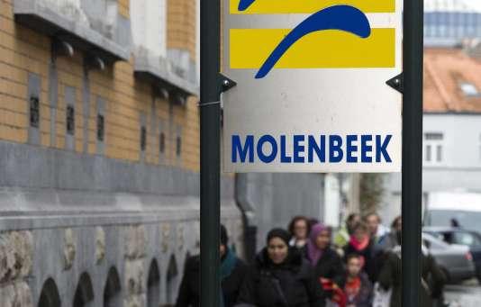 A Molenbeek, le 17 novembre.