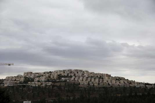 Colonie israélienne à Ramat Shlomo dans la Cisjordanie occupée, le 17 novembre 2015.