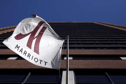 Hôtel Marriottt à Manhattan.